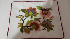 Embroidery#crewel