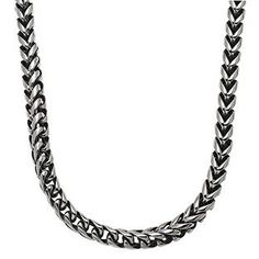 Mens Steel Jewelry - Men's Stainless Steel 8MM Foxtail Chain Necklace Gemologica.com offers a large selection of men's chains, necklaces and pendants available in Sterling Silver, stainless steel, titanium, leather, 10K, 14K and 18K yellow, rose and white gold. Jewelry for men can be found on www.gemologica.com here: www.gemologica.com/mens-jewelry-c-28.html and chains here www.gemologica.com/mens-necklaces-chains-c-28_61.html
