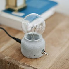 Cement lamp #ConcreteLamp