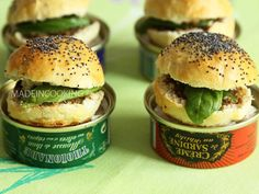 Les mini burgers de Made in Cooking