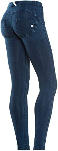 d11f259729a66 Amazing offer on Freddy WR.UP Regular Rise Denim Skinny Jeans Women, Butt  Lifting, Signature Shaping Pants, Sexy Push Up Pants online