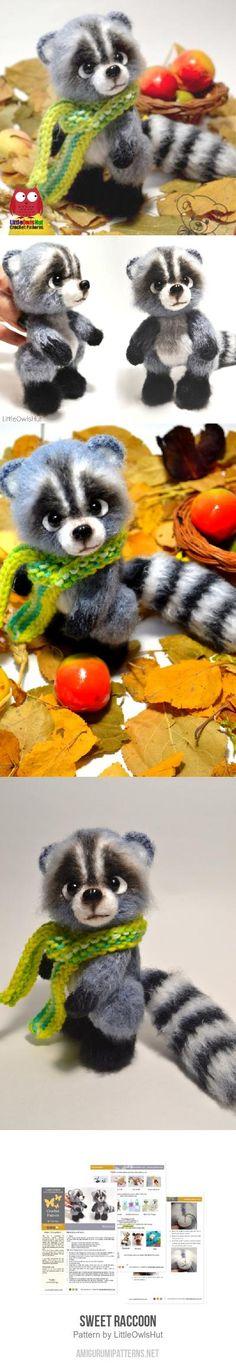 Sweet Raccoon Amigurumi Pattern
