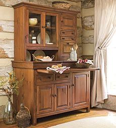 hoosier kitchen cabinets large painted finish conestoga cupboard plow and hearth 1699
