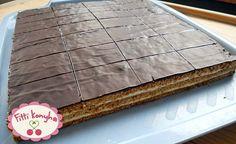 Fitti Konyha: Fitti mennyei mézes krémes recept Hungarian Recipes, Hungarian Food, Paleo Dessert, Sweets, Heavenly, Foods, Sheet Cakes, Food Food, Food Items
