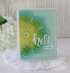 It's Release Day at Taylored Expessions! Handmade Cards Mandala, Friend #tayloredexpressions