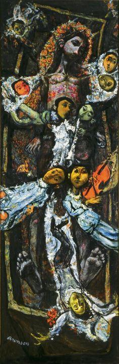 David Aronson, Resurrection, 1944