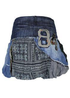 desigual jeansrock