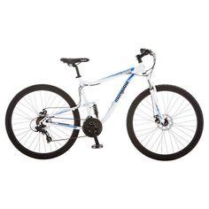 Mongoose Men's Status 2.6 29 Mountain Bike - White
