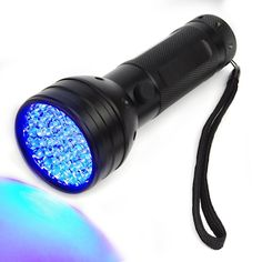 Opoway Blacklight 51 UV LED Premium Handheld Ultraviolet Flashlight Black Light for Urine Stain Bed Bugs Scorpions Leaks Detector Torch 395nM * Click image for more details. (Amazon affiliate link)