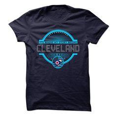 I Love My Home Cleveland - Ohio T shirts