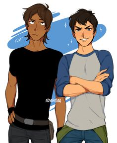 Lance looks like a badass, and Keith turned into a fck boi Voltron Ships, Form Voltron, Voltron Klance, Altean Lance, Keith Lance, Voltron Season 1, Fan Art, Wattpad, Chicas Anime