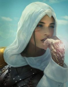 This is very nice artwork. Looks as if it can be a scene from straight out of a Prince of Persia game, movie, or anime....