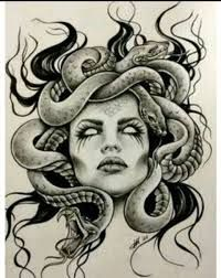Medusa Mitologia Griega Buscar Con Google Dibujo Medusa Arte De Medusas Tatuajes De Mitología