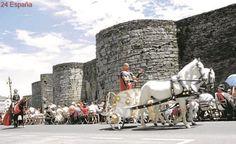 Los romanos y celtas, listos para volver a convertir Lugo en Lucus Augusti