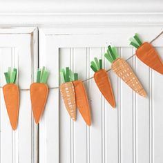 MumliCreates 5-Foot Carrots Bunting Banner - BestProducts.com