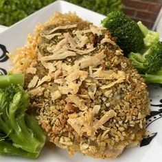 Garlic-Herb-Crusted Pork Chop Dinner for One Cheddar Broccoli Rice, Mushroom Wine Sauce, Tender Pork Chops, Pork Chop Dinner, Dinner For One, Steamed Vegetables, Parmesan Crusted, Recipe Directions, Grilled Asparagus