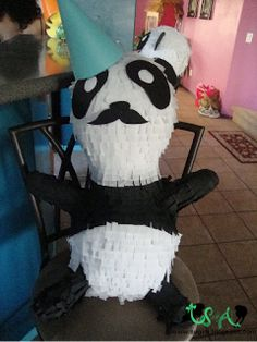 DIY Panda Pinata