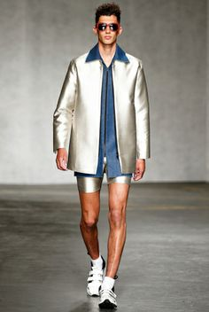 Xander Zhou Spring/Summer 2015 | London Collections: Men