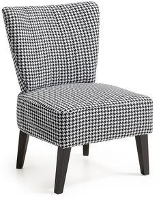 Naj fauteuil zwart/wit - LaForma