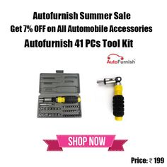 #Autofurnish #Tool #Kit Buy Now with 7% OFF! Use Discount Code - AFSS7 Buy Now http://bit.ly/1WbP7JX