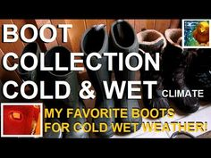 My Boot Collection & New Fav Boots (Bogs Summit Review)