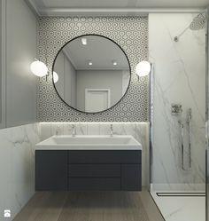 Wystrój wnętrz - Łazienka - styl Nowojorski. Projekty i aranżacje najlepszych designerów. Prawdziwe inspiracje dla każdego, dla kogo liczy się dobry gust i nieprzeciętne rozwiązania w nowoczesnym projektowaniu i dekorowaniu wnętrz. Obejrzyj zdjęcia!