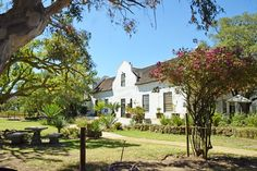 .: A Day in Darling Cape Dutch, Homesteads, South Africa, House Plans, Landscapes, Mansions, Architecture, House Styles, Day