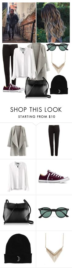"""""""•I can barely breath when you're loving me•"""" by lanaw on Polyvore featuring Etro, Converse, Kara, Ray-Ban, Melinda Maria, women's clothing, women, female, woman and misses"""