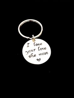 Eric Church Lyric Keychain/ I love your by LittleMaddysBoutique, $10.00
