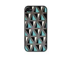 Geometric Apple iPhone 5 Case  Mountain Pattern by fieldtrip