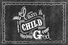 "LDS Lemon""Aids"": ""I am a Child of God"" printable"