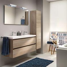 Desco - Newform meubelen - Pagina 16-17 Rustic Bathroom Decor, Modern Bathroom, Small Bathroom, Attic Bathroom, Bathroom Layout, Washbasin Design, Bedroom Wall Colors, Bathroom Design Luxury, Shower Panels