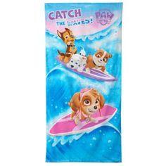 Nick Jr.  Paw Patrol Wave Catcher Beach Towel