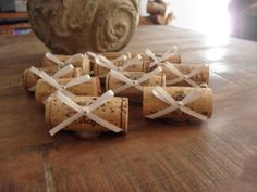 Wine Cork Place Card Holder  Table Numbers  Escort by smccathie, $19.00