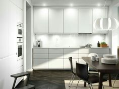 Ikea kitchen gallery white kitchen images furniture design for bedroom ikea small kitchen gallery Ikea Small Kitchen Table, White Kitchen Furniture, Kitchen Decor, Kitchen Ideas, Kitchen Images, Kitchen Units, Ikea Furniture, Kitchen Inspiration, Furniture Design