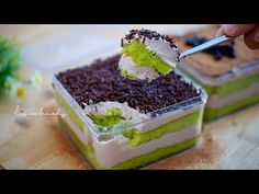 Dessert Boxes, Oreo Dessert, Desserts To Make, Mini Desserts, Milo Cake, Indonesian Desserts, Mango Pudding, Resep Cake, Cake Recipes