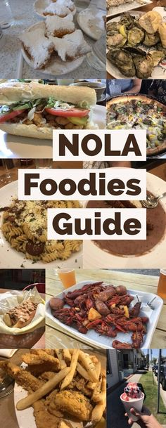 NOLA Foodies Guide and 3 day travel itinerary The best restaurants and food to eat in New a Orleans Including beignets at Cafe Du Monde gumbo jambalaya po boys snowballs. Nola Vacation, New Orleans Vacation, New Orleans Travel, Trip To New Orleans, New Orleans Gumbo, Vacation Destinations, Dream Vacations, Jambalaya, Road Trip