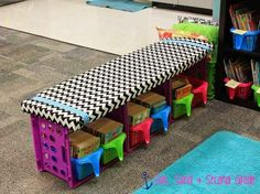 Or a DIY crate bench