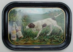 Vintage - The Consumers Park Brewing Co of Brooklyn - New York - USA - '' A Good Point'' - Tray -  1905