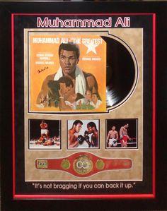 Muhammad Ali Signed Album