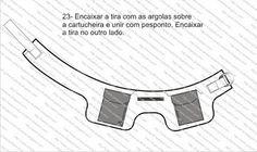 Cartucheira por *CYNARA'S STUDENTS