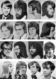 A gorgeous gallery of 'ultra-chic' men's hairstyles from the 70s | Dangerous Minds