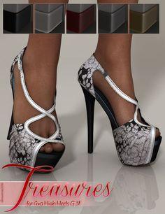 Treasures for Ava High Heels G3F