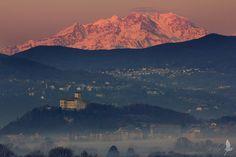 The Rocca Borromeo - Rocca di Angera, Lake Maggiore, Lombardy Italy