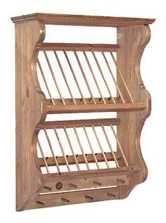 Hotwells Pine - Penny Pine Plate Racks