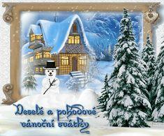 Czech Republic, Merry Christmas, Advent, Painting, Art, Merry Little Christmas, Craft Art, Happy Merry Christmas, Paintings