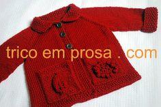 blog tricô em prosa - Receita traduzida do Cardigã Flora