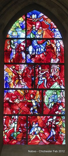 Chagall Window in Chichester Cathedral - truly beautiful