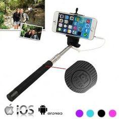 Monopié con Cable para Selfies
