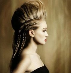 viking hair - dirtbin designs